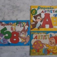Libros de segunda mano: CUADERNO PARA COLOREAR PEQUEÑO ARTISTA. Lote 57162969
