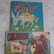 Libros de segunda mano: CUADERNO PARA COLOREAR COLORIN Y COLOR. Lote 57163080