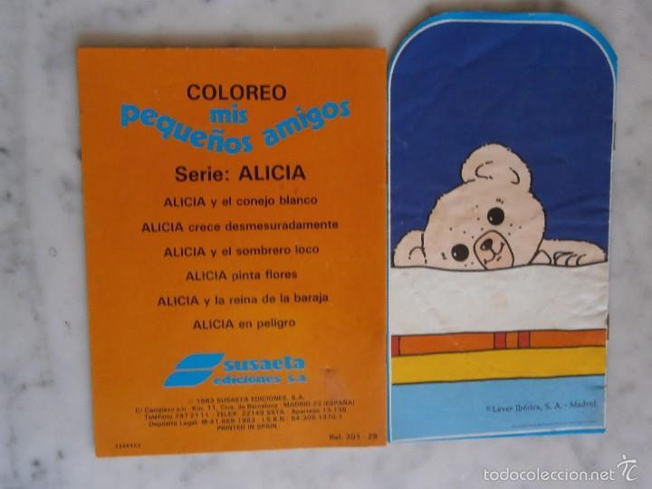 cuaderno para colorear alicia pinta flores y pi - Comprar en ...