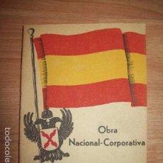 Libros de segunda mano: MOVIMIENTO NACIONAL-AGRARIO. OBRA NACIONAL-CORPORATIVA. PUNTOS BÁSICOS. Lote 57177390