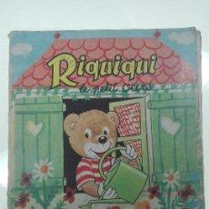 Libros de segunda mano: LE JOURNAL DE RIQUIQUI - LE PETIT OURS - Nº 8 - PARIS - 1968 -26,5 X 24 CM. - FRANCES -. Lote 57222300