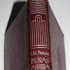 Libros de segunda mano: CRISOL NUM. 4. JOSÉ MARÍA DE PEREDA / PEÑAS ARRIBA . ED. AGUILAR, 1950 .. Lote 29856319