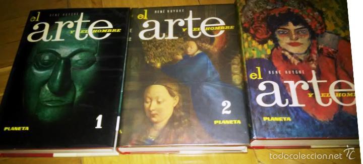 Libros de segunda mano: El arte y el hombre (tres tomos) - Foto 2 - 30596965