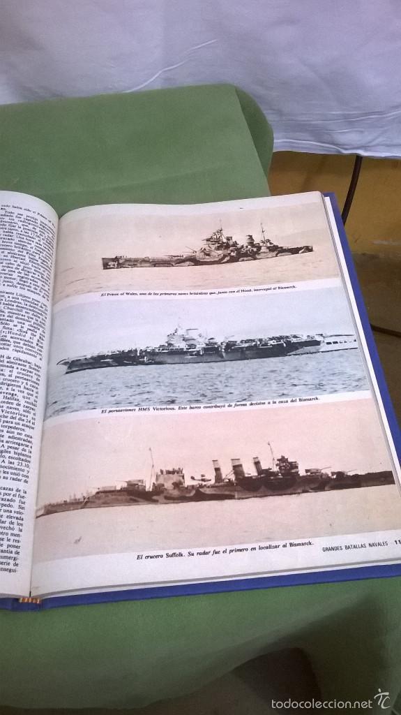 Libros de segunda mano: Libro grandes batallas navales - Foto 4 - 121154232
