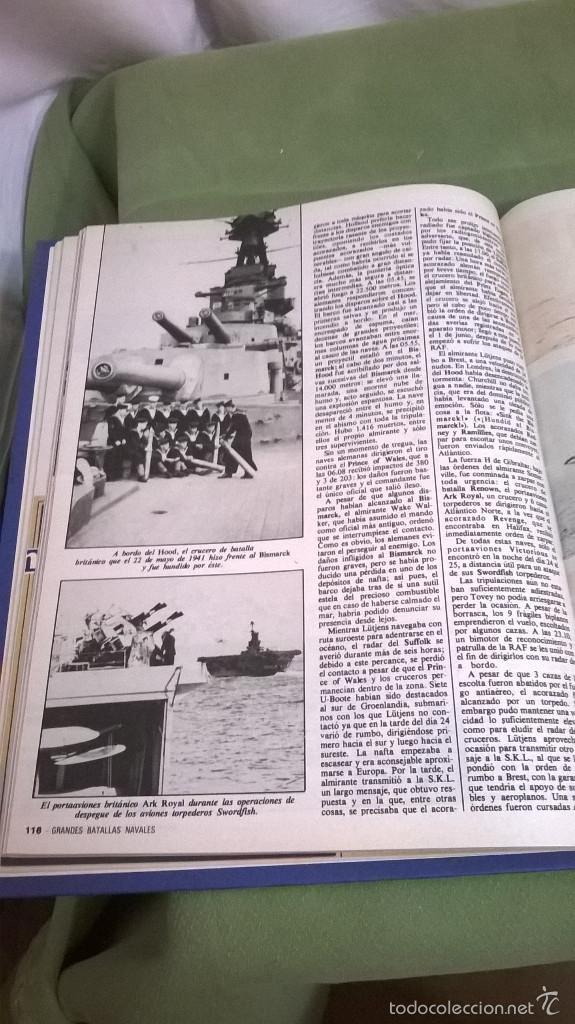 Libros de segunda mano: Libro grandes batallas navales - Foto 5 - 121154232