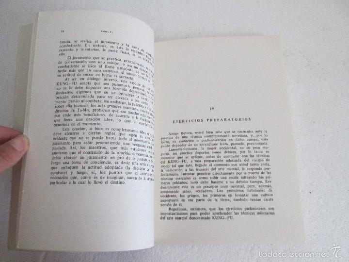 Libros de segunda mano: KUNG - FU PARA LA MUJER. KAN YI. EDITORIAL CAYMI. 1974. VER FOTOGRAFIAS ADJUNTAS - Foto 9 - 57313860