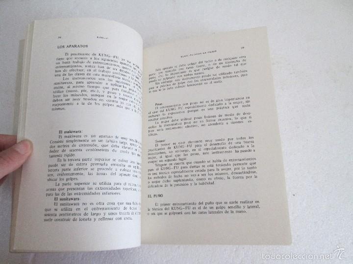 Libros de segunda mano: KUNG - FU PARA LA MUJER. KAN YI. EDITORIAL CAYMI. 1974. VER FOTOGRAFIAS ADJUNTAS - Foto 11 - 57313860