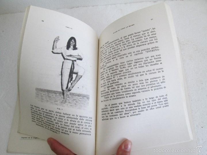 Libros de segunda mano: KUNG - FU PARA LA MUJER. KAN YI. EDITORIAL CAYMI. 1974. VER FOTOGRAFIAS ADJUNTAS - Foto 13 - 57313860
