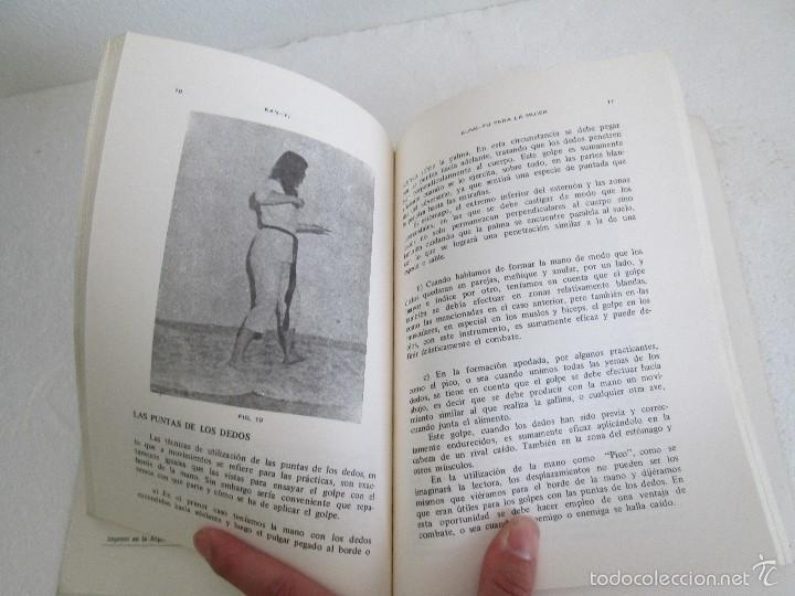 Libros de segunda mano: KUNG - FU PARA LA MUJER. KAN YI. EDITORIAL CAYMI. 1974. VER FOTOGRAFIAS ADJUNTAS - Foto 14 - 57313860