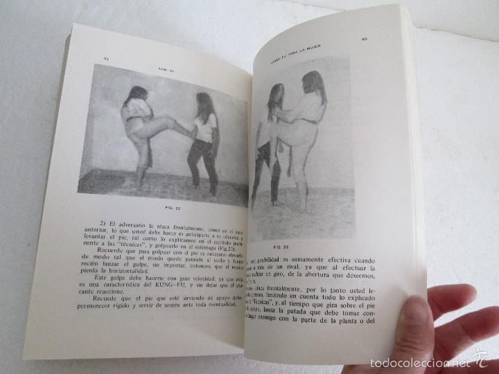 Libros de segunda mano: KUNG - FU PARA LA MUJER. KAN YI. EDITORIAL CAYMI. 1974. VER FOTOGRAFIAS ADJUNTAS - Foto 16 - 57313860