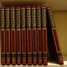 Libros de segunda mano: LOS GRANDES DESCUBRIMIENTOS DE LA ARQUEOLOGÍA. 10 TOMOS. OBRA COMPLETA. Lote 57334260