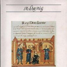 Libros de segunda mano: ALMAIG. ESTUDIS I DOCUMENTS,X.. Lote 57157063