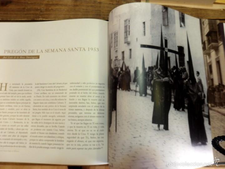 Libros de segunda mano: SEMANA SANTA SEVILLA, CALVARIO CUATRO SIGLOS DE HISTORIA,MUY ILUSTRADO,130 PAGINAS - Foto 3 - 57385607