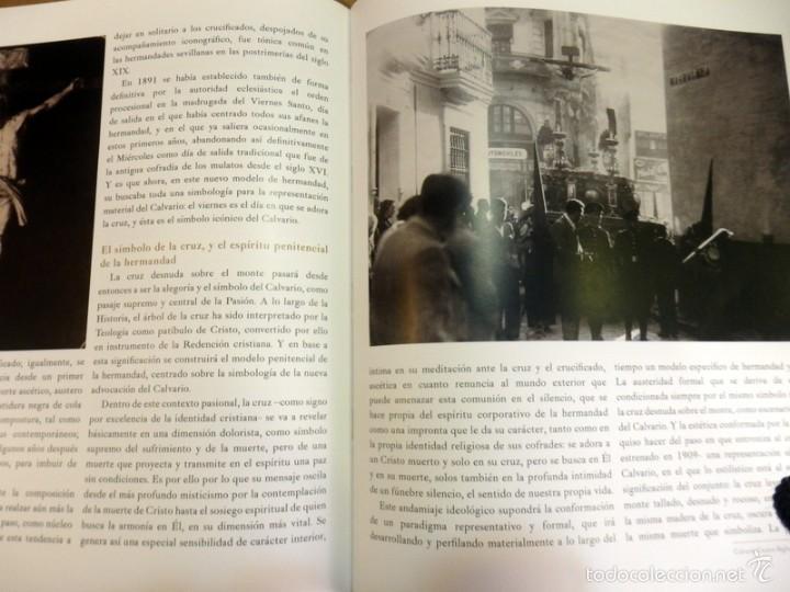 Libros de segunda mano: SEMANA SANTA SEVILLA, CALVARIO CUATRO SIGLOS DE HISTORIA,MUY ILUSTRADO,130 PAGINAS - Foto 5 - 57385607