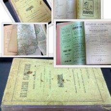Libros de segunda mano: AÑO 1928.- ANUARIO DE FERROCARRILES ESPAÑOLES.- POR D. ENRIQUE DE LA TORRE.MAPA GENERAL Y DISTANCIAS. Lote 30090312