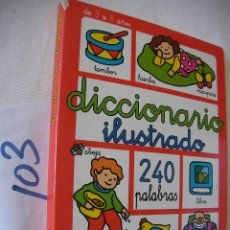Libros de segunda mano: DICCIONARIO ILUSTRADO - ENVIO GRATIS A ESPAÑA. Lote 57418449