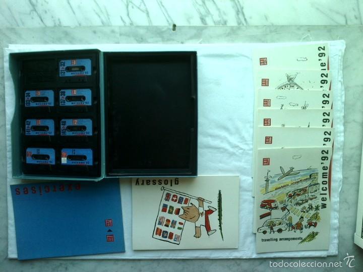 Libros de segunda mano: XAVIER MARISCAL CURSO DE INGLES WELCOME 92 1988 - Foto 7 - 57424764