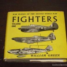 Libros de segunda mano: FIGHTERS - WAR PLANES OF THE SECOND WORLD WAR - 1961 -. Lote 57443020