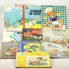 Libros de segunda mano: 7637 - LOTE DE 10 EJEMPLARES VARIAS EDITORIALES(VER DESCRIP). VV. AA. 1946-1991.. Lote 57448542