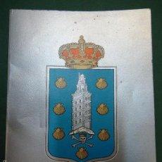Libros de segunda mano: RARA GUÍA DE LA CORUÑA 1982 CON FOTOS 104 PÁGINAS. Lote 57464764