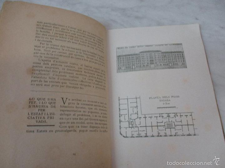 Libros de segunda mano: Les Cases a Bon Preu - Les Institucions Socials i els Problemes Obres - Eugeni Giralt - 1920 - Foto 6 - 57482371