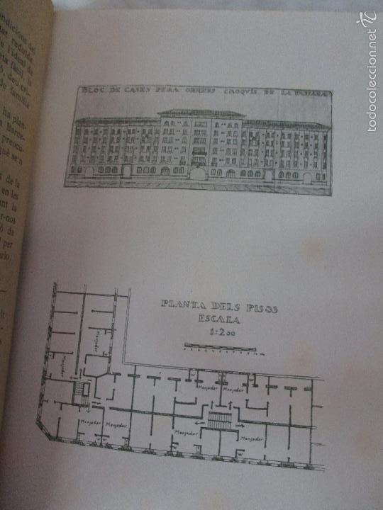 Libros de segunda mano: Les Cases a Bon Preu - Les Institucions Socials i els Problemes Obres - Eugeni Giralt - 1920 - Foto 7 - 57482371