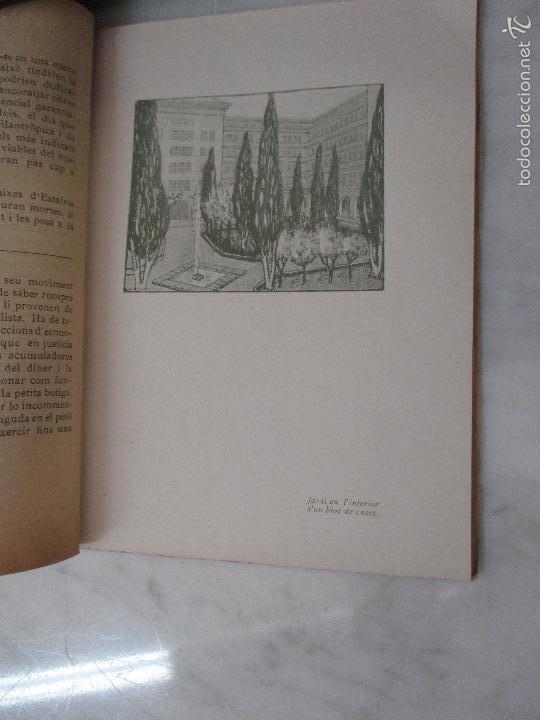 Libros de segunda mano: Les Cases a Bon Preu - Les Institucions Socials i els Problemes Obres - Eugeni Giralt - 1920 - Foto 8 - 57482371