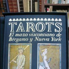 Libros de segunda mano: TAROTS. EL MAZO VISCONTIANO DE BÉRGAMO Y NUEVA YORK. ITALO CALVINO. FRANCO MARIA RICCI. 1986.. Lote 57485786