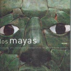 Libros de segunda mano: LOS MAYAS ÉRIC TALADOITE (TEXTO) Y JEAN-PIERRE COURAU (FOTOGRAFÍAS). Lote 57488907