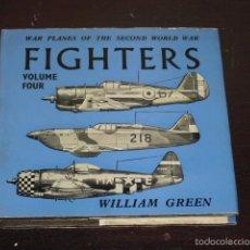 Libros de segunda mano: FIGHTERS - WAR PLANES OF THE SECOND WORLD WAR - 1961 -. Lote 57495507