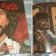 Libros de segunda mano: EMILIO SALGARI 4 TOMOS + JULIO VERNE 2 TOMOS . Lote 57516545