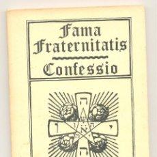 Libros de segunda mano: FAMA FRATERNITATIS / CONFESSIO.. Lote 57526238
