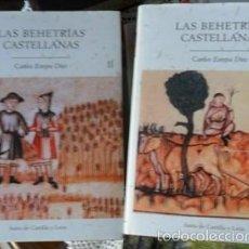 Libros de segunda mano: LAS BEHETRÍAS CASTELLANAS, CARLOS ESTEPA DIEZ. DOS TOMOS. Lote 57527676