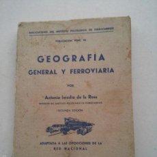Libros de segunda mano: RENFE - PUBLICACION N. 96 - DEL INSTITUTO POLITECNICO DE FERROCARRILES - ANTONIO IMEDIO DE LA ROSA. Lote 57529854