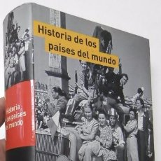 Libros de segunda mano: DICCIONARIO DE HISTORIA DE LOS PAISES DEL MUNDO. Lote 57531328