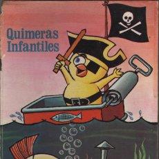Libros de segunda mano: QUIMERAS INFANTILES ANIMALITOS REVOLTOSOS VOLUMEN Nº 3 EDICIONES BOGA 18 PÁGINAS AÑO 1972 MD11. Lote 57539622