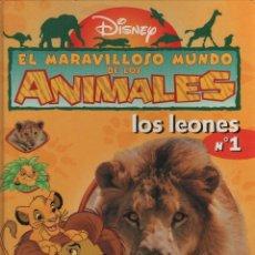 Libros de segunda mano: EL MARAVILLOSO MUNDO DE LOS ANIMALES LOS LEONES Nº1 28 PÁGINAS AÑO 1998 MD14. Lote 57547655