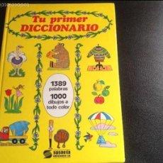 Libros de segunda mano: TU PRIMER DICCIONARIO. SUSAETA EDICIONES SA. Lote 94100783
