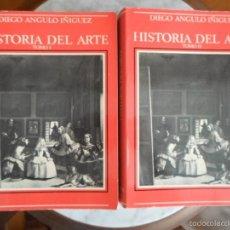 Libros de segunda mano: HISTORIA DEL ARTE TOMOS I Y II ´DIEGO ANGULO IÑIGUEZ - 8 EDICIÓN - RAYCAR S,A 1978. Lote 57590950