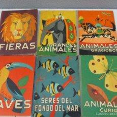 Libros de segunda mano: COLECCIÓN COMPLETA -LOS ANIMALES Y SUS COSTUMBRES (GASCON, MAS SALA)-6 VOLS -DALMAU CARLES PLA -1957. Lote 57646273