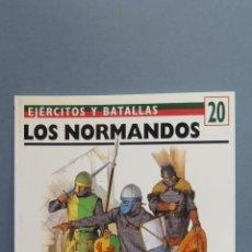 Libros de segunda mano: LOS NORMANDOS. EJERCITOS Y BATALLAS. Lote 57671449