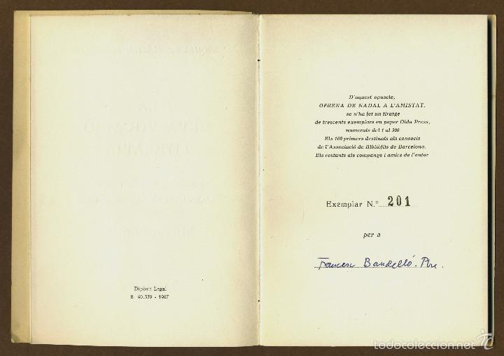 Libros de segunda mano: LA MEVA VOCACIO LITERARIA - SALARICH I TORRENTS, MIQUEL S - Foto 3 - 57680474