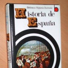 Libros de segunda mano: HISTORIA DE ESPAÑA - JOSE TERRERO - BIBLIOTECA HISPANIA - EDITORIAL RAMON SOPENA -. Lote 57696574