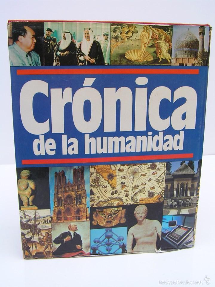Libros de segunda mano: LIBRO CRONICA DE LA HUMANIDAD DE EDITORES PLAZA JANES - AÑO 1987 DE 1184 PAGINAS - Foto 2 - 57698916