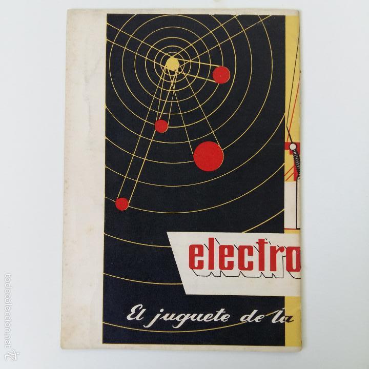 Libros de segunda mano: MANUAL DE ELECTROMECANO EL JUGUETE DE LA ERA ATOMICA - Foto 2 - 57714034