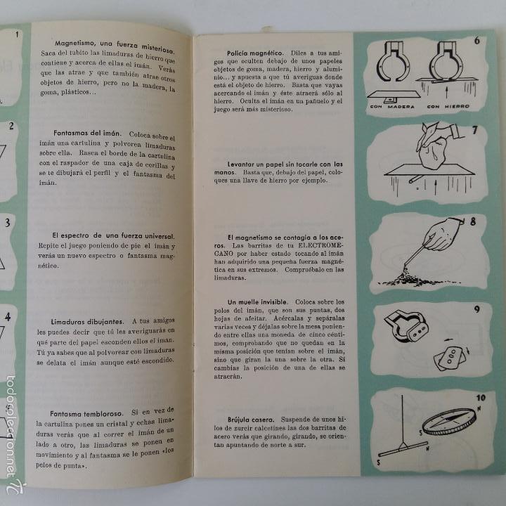 Libros de segunda mano: MANUAL DE ELECTROMECANO EL JUGUETE DE LA ERA ATOMICA - Foto 4 - 57714034