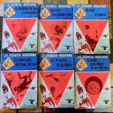 Libros de segunda mano: LA CIENCIA MODERNA - AÑOS 50-60 - ED. RAMÓN SOPENA - MEDICINA - ESPACIO - MAR - LOTE DE 5 VOLÚMENES. Lote 57726936