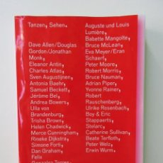 Libros de segunda mano: VER BAILAR CATALOGO EDITADO CON MOTIVO DE LA EXPOSICIÓN HOMÓNIMA CELEBRADA EN EL C.A.A.C.. Lote 57727507