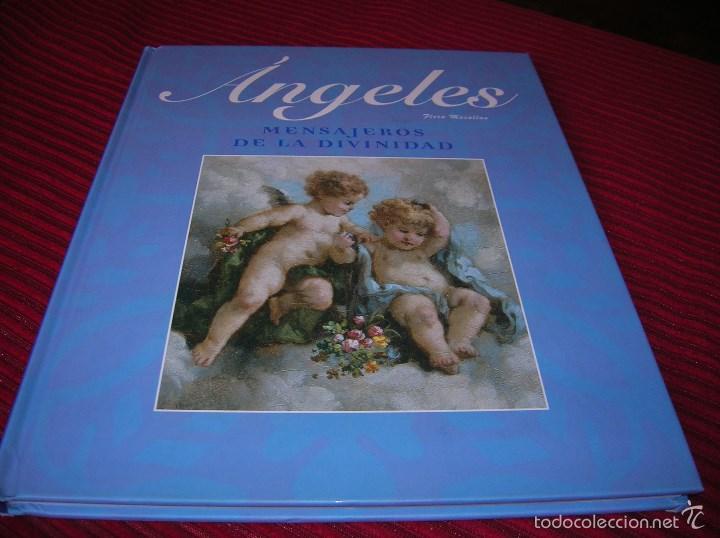 Interesante libro Angeles.Mensajeros de la Divinidad,por Flora Macallan segunda mano