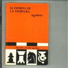 Livros em segunda mão: EL ESPÍRITU DE LA APERTURA. RICARDO AGUILERA. Lote 57734446